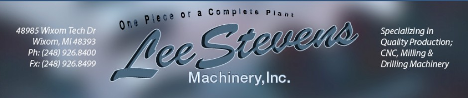 CNC Equipment and Used CNC Machine Tool Supplier